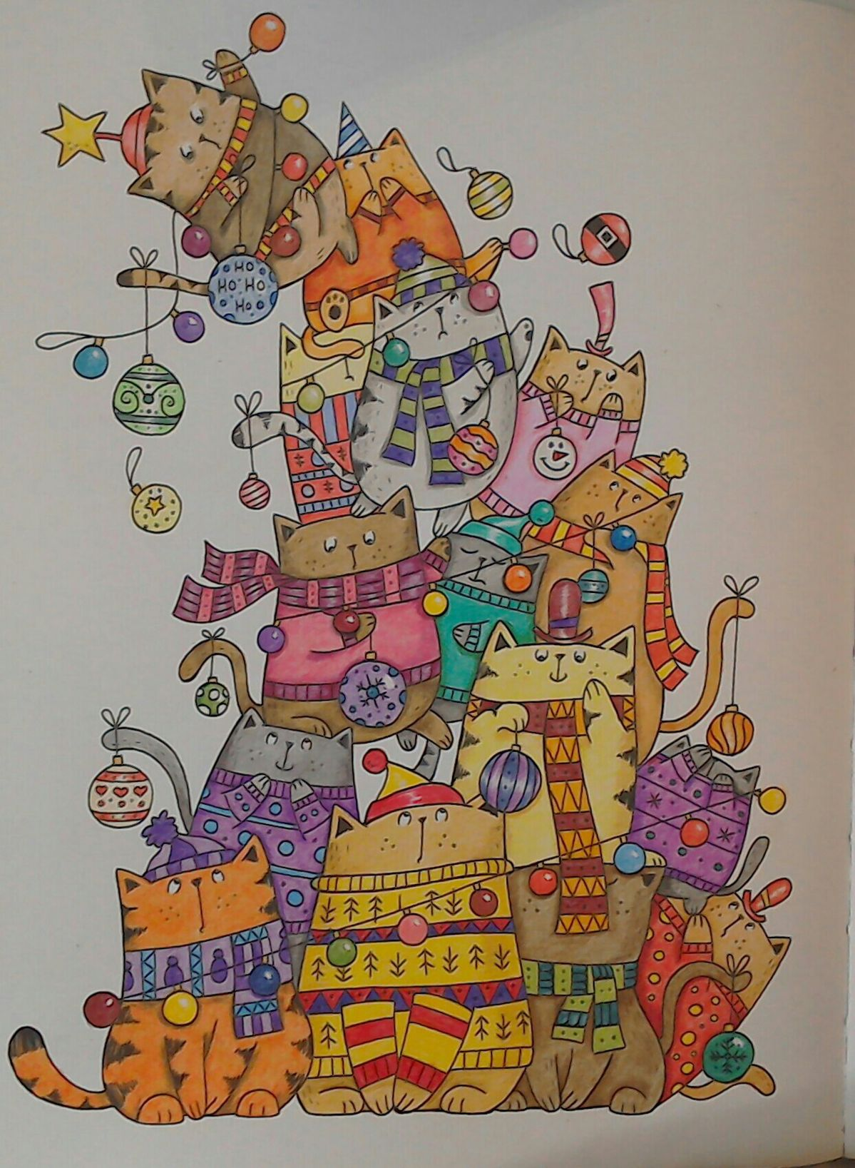 From A Million Christmas Cats by John Bigwood (с ...