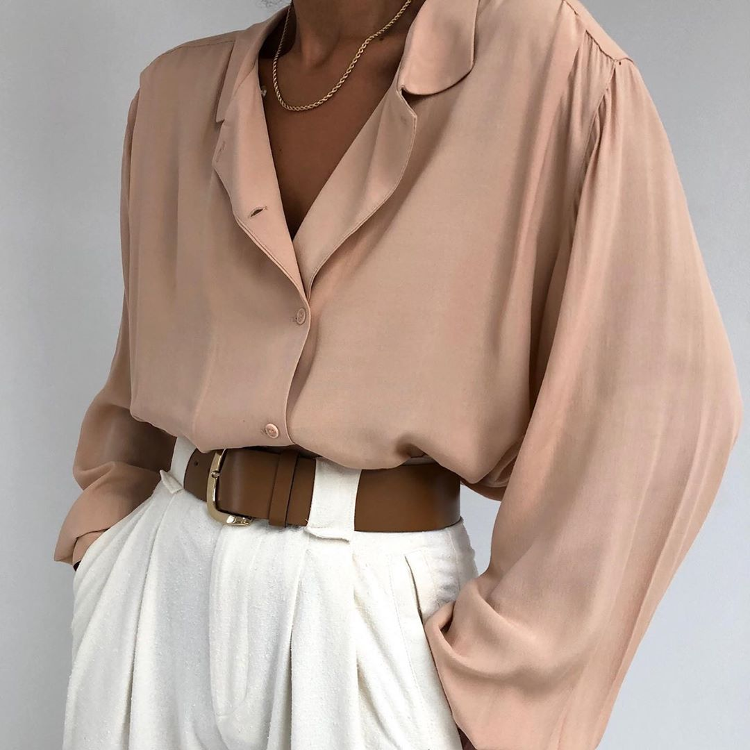 Styling Vintage Blouses