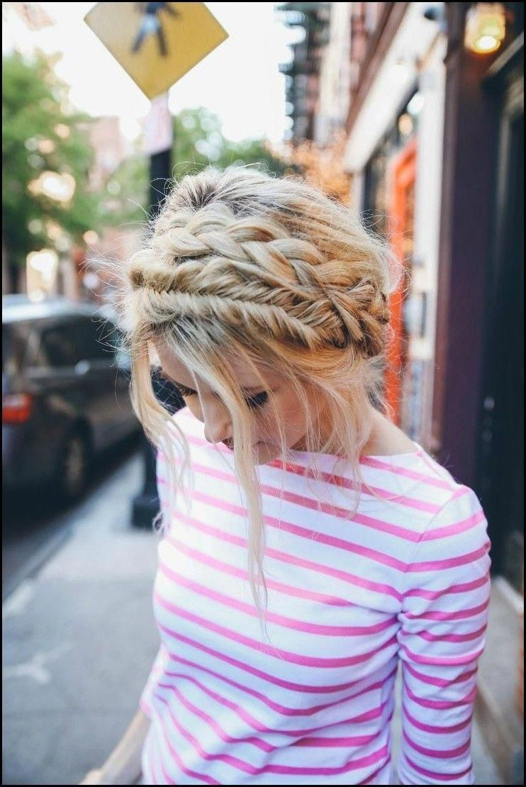 """Double Braided Crown Tutorial 