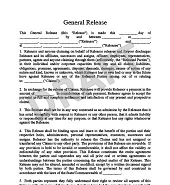 Free Liability Waiver Form Template Release Of Liability Form - liability waiver form