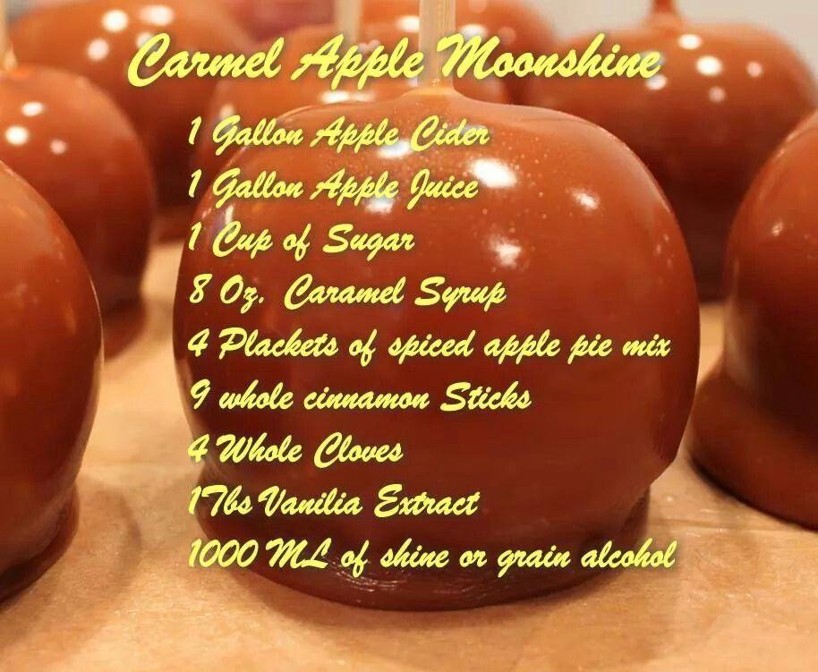 how to make caramel moonshine