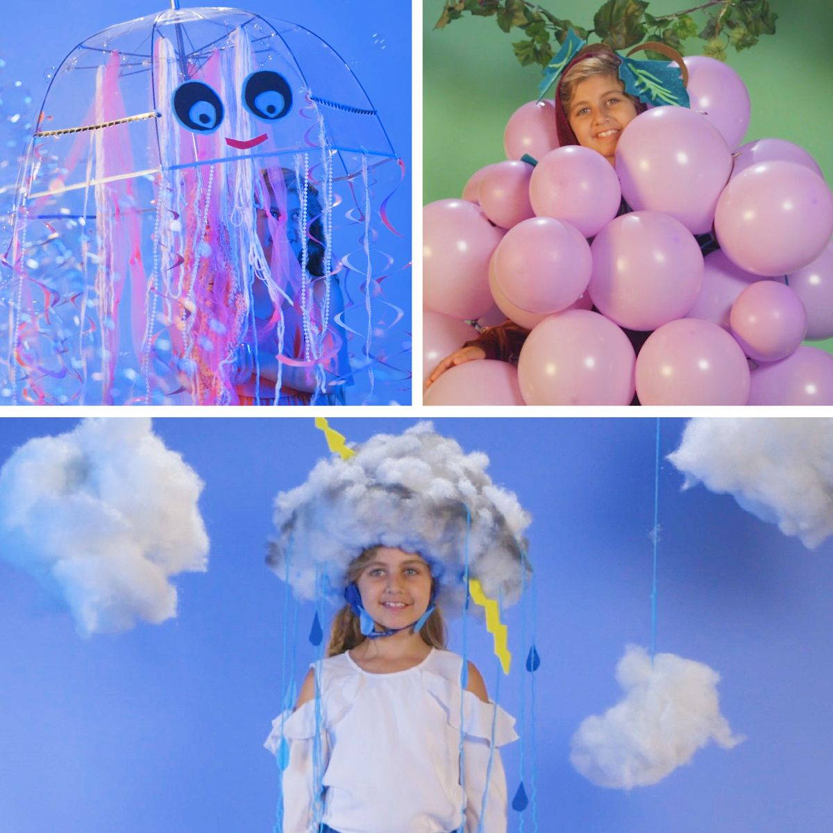 DIY Kids Halloween Costumes In 15 Minutes Or Less