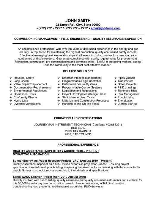 ... Quality Cover Letter Best Quality Assurance Cover Letter Examples   Commissioning  Agent Cover Letter ...
