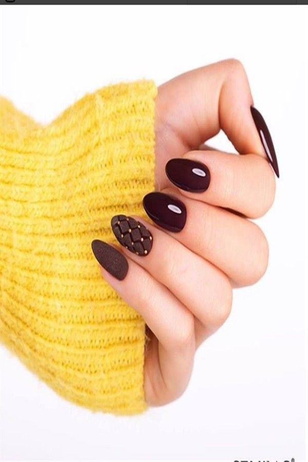 40+ Stylish Brown Nail Ideas Trendy Manicure – Fashonails