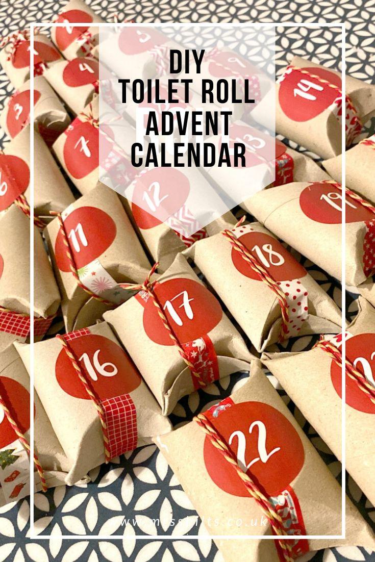 DIY Toilet Roll Advent Calendar
