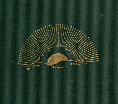"nemfrog: "" Golden sun. God's light on dark clouds. 1892. Book cover detail. Internet Archive """