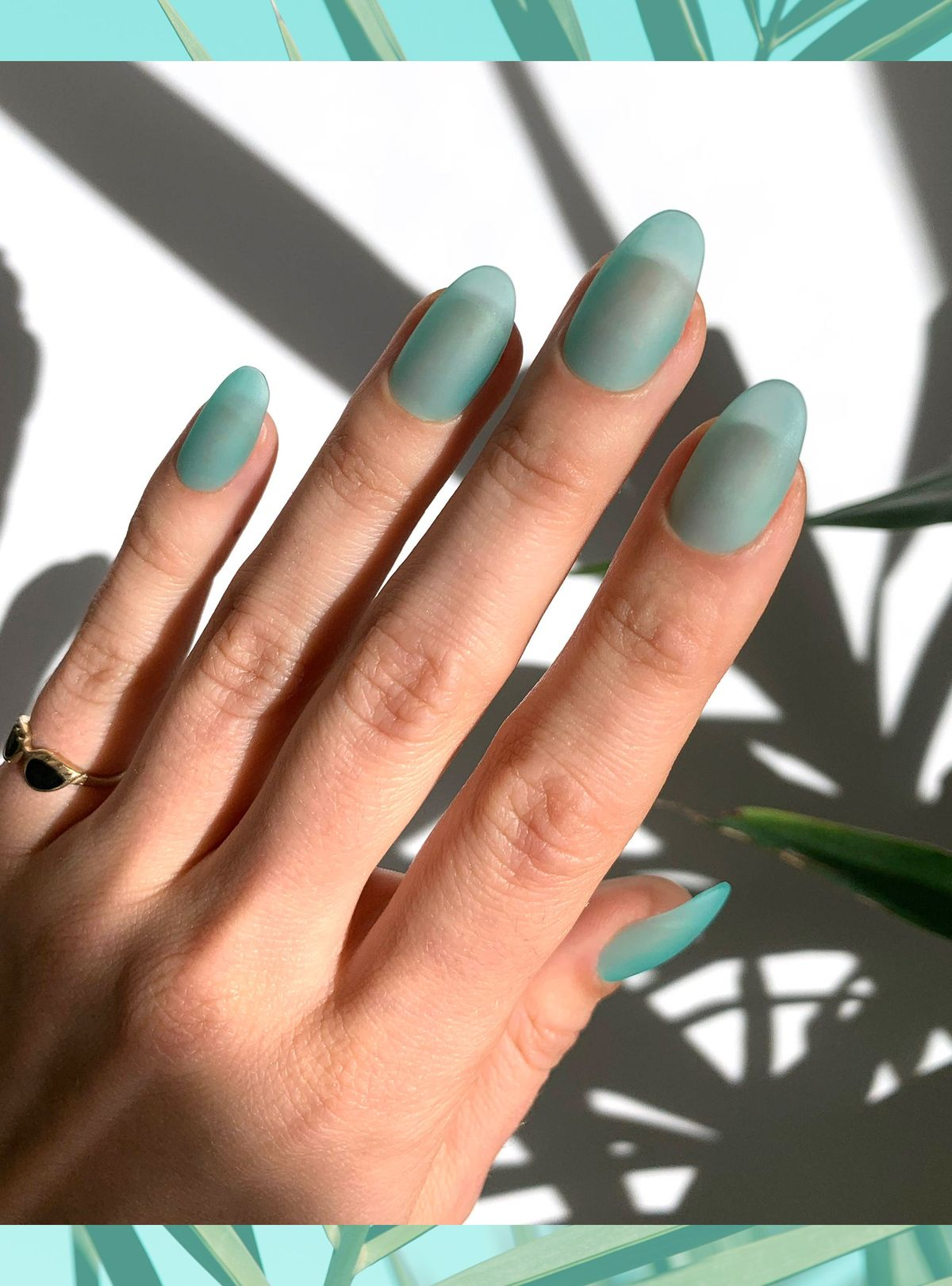 Seaglass Nails Are The New Jelly Nails For Fall+#refinery29