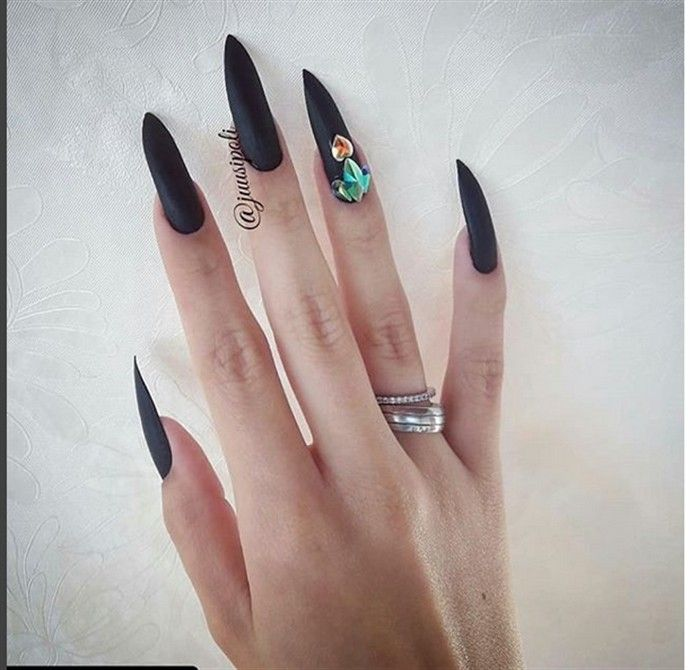 top 33 adorable matte nail art designs trends – Fashonails