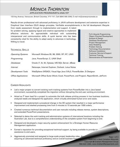 software programmer resume cvresumeunicloudpl - Senior Applications Programmer Resume