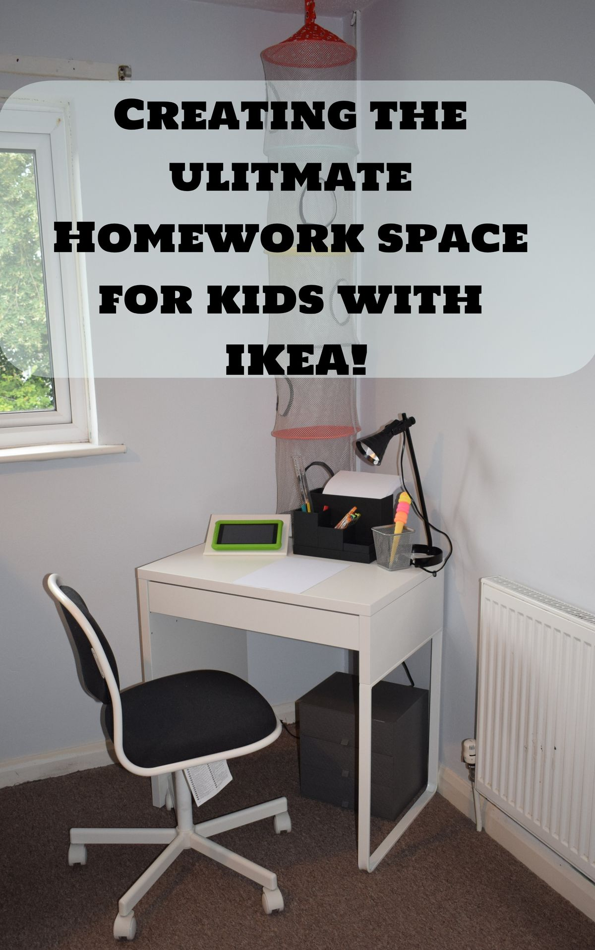 [AD] Creating The Ultimate Homework Space for Kids.