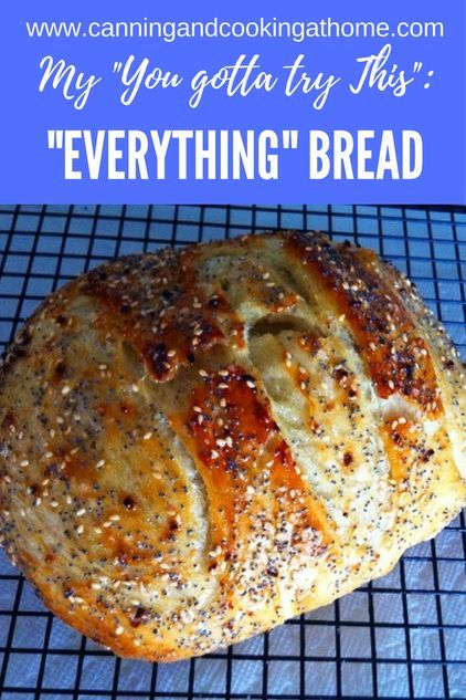 """""""Everything"""" Bread"""