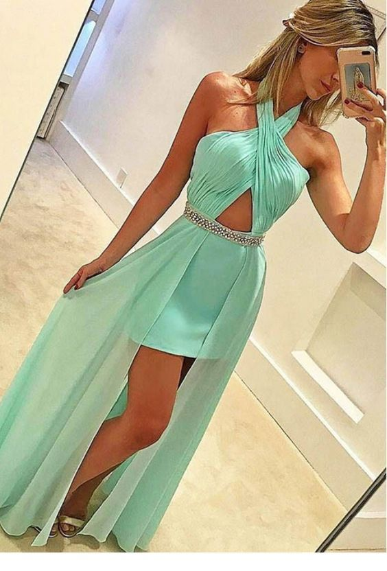 Lovely mint dress with some nice details