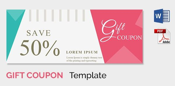 gift coupon templates