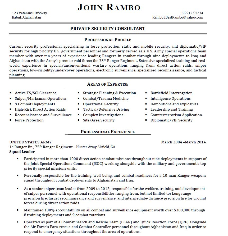 Bad Resume Examples - Examples of Resumes