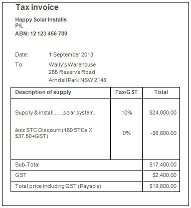 Sample Invoice With Gst Gst Invoice Format And Rules - invoice template australia
