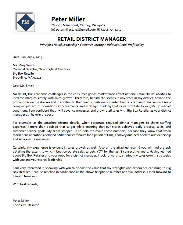 manager retail cover letter cvresumeunicloudpl regional manager retail cover letter - Examples Of Retail Cover Letters
