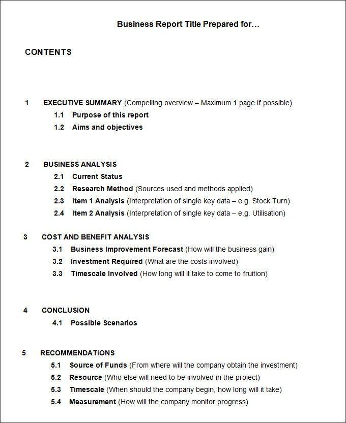 Executive Summary Of A Report Example 11 sample feasibility – Executive Summary Template Free
