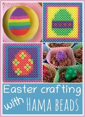 Easter crafts using Hama beads