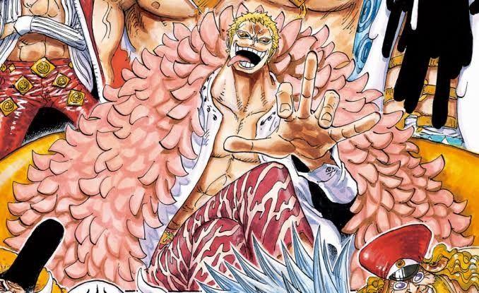 one piece manga chapter 907