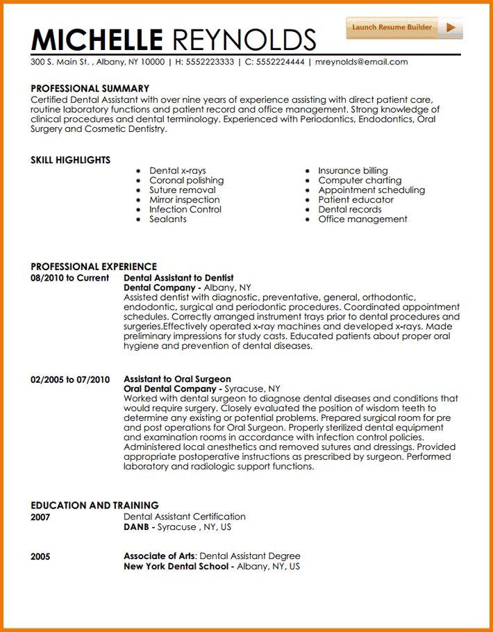 entry level dental assistant resume best dissertation hypothesis - Entry Level Dental Assistant Resume
