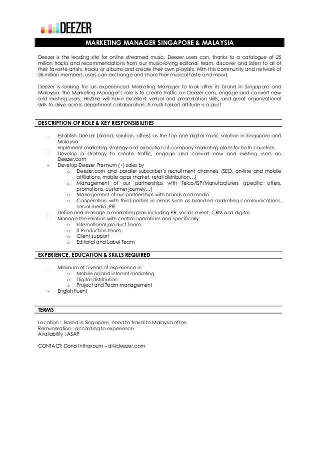 Cover Letter Artist Management Job   Cover Letter