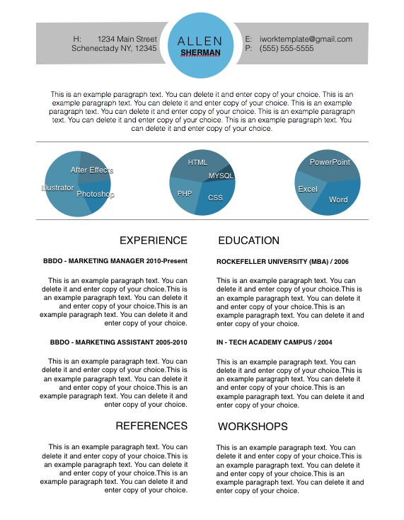 Apple Resume Templates Resume Templates For Mac Word Apple Pages - iwork resume templates