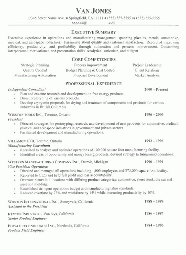 Resume Competencies Examples - Examples of Resumes - core competencies for resume