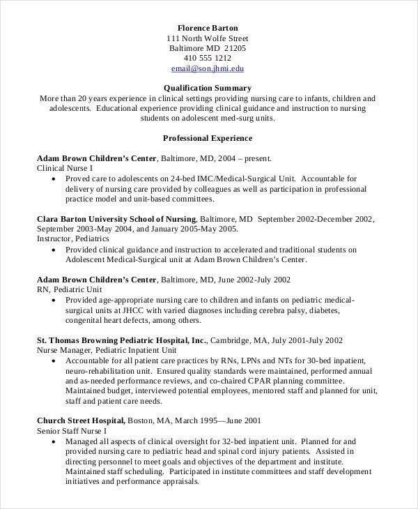 Nursing Student Resume Template Example Student Nurse Resume Free - sample resume for nursing student