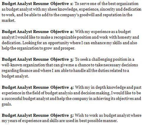 sample budget analyst resume node2004-resume-templatepaasprovider