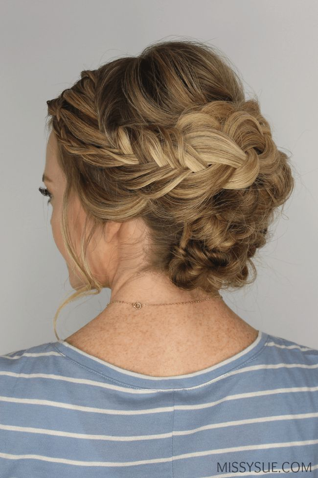 "Braided and Knotted Updo <a class=""pintag"" href=""/explore/HairstyleTutorials/"" title=""#HairstyleTutorials explore Pinterest"">#HairstyleTutorials</a><p><a href=""http://www.homeinteriordesign.org/2018/02/short-guide-to-interior-decoration.html"">Short guide to interior decoration</a></p>"