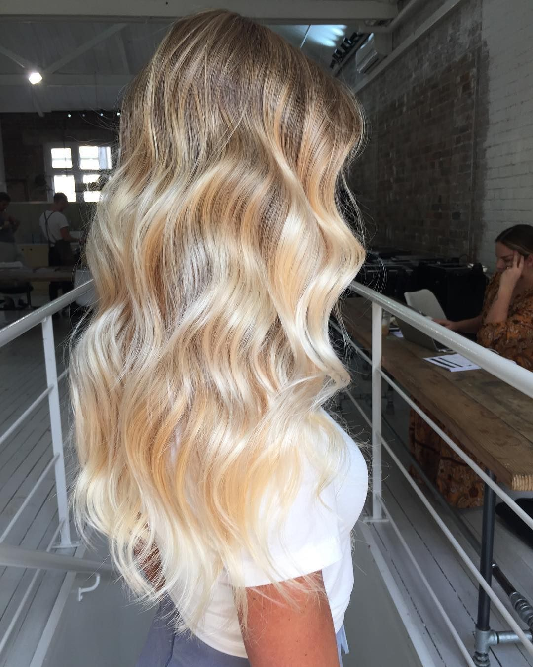 "Joel Wallbank on Instagram: ""Fresh creamy locks just in time for summer 😍 the most seamless balayage blend created with @goldwellaus @redkenaustralia and @olaplexau to…"""
