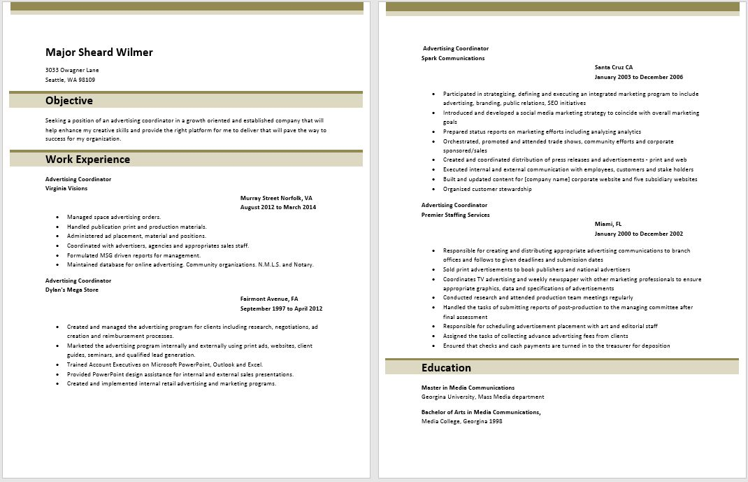 sample logistics coordinator resume node2002-cvresumepaasprovider
