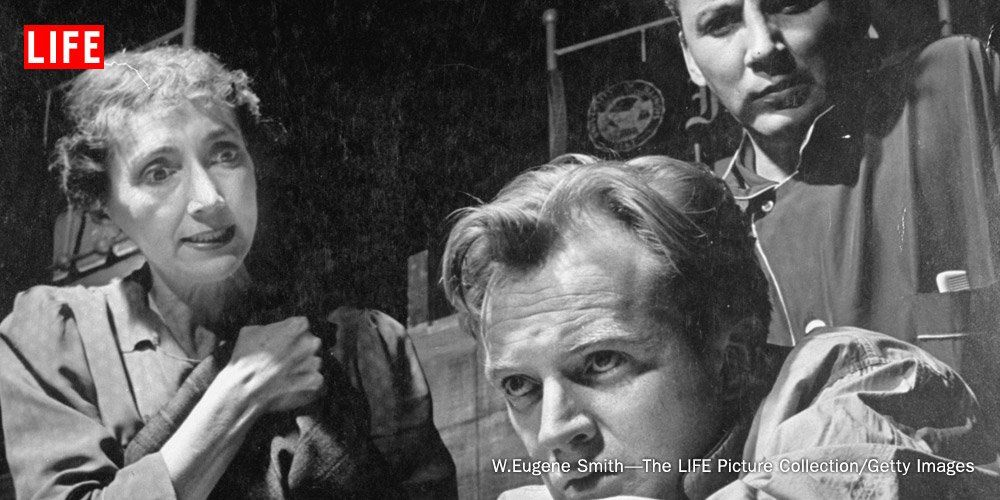 Take a look back at the Tony Award winning play 'Death of a Salesman'