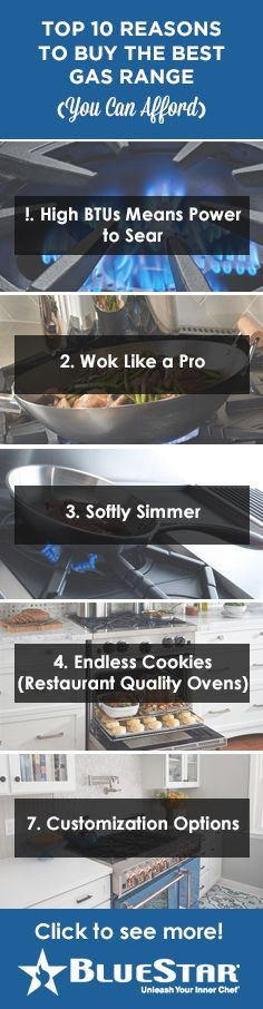 Top 10 Reasons to Buy the Best Gas Range (You Can Afford) - BlueStar