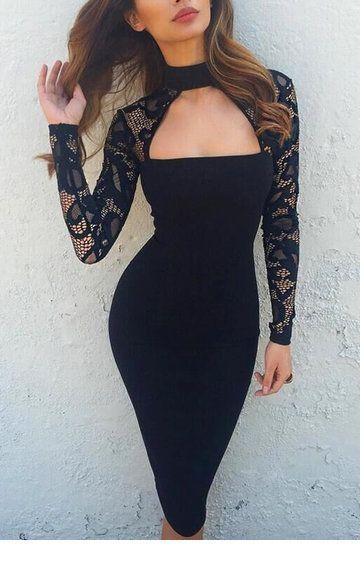 I like the lace sleeves