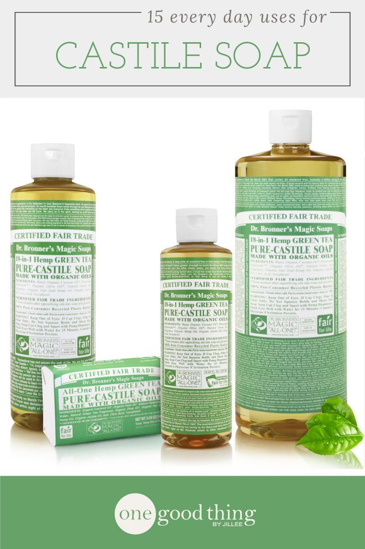 What is Castile Soap + 22 Brilliant Uses · One Good Thing by Jillee
