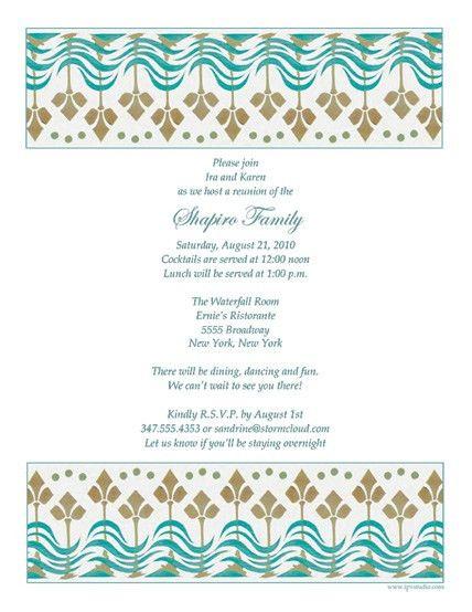 Sample invitation letter for family get together inviview sample family reunion invitation letter stopboris Gallery