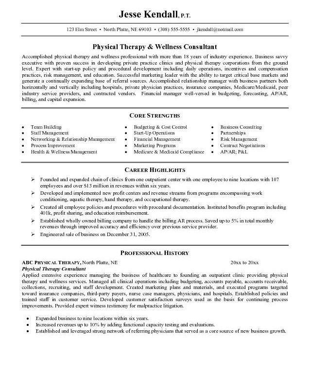 physiotherepist resume physiotherapist resume sample