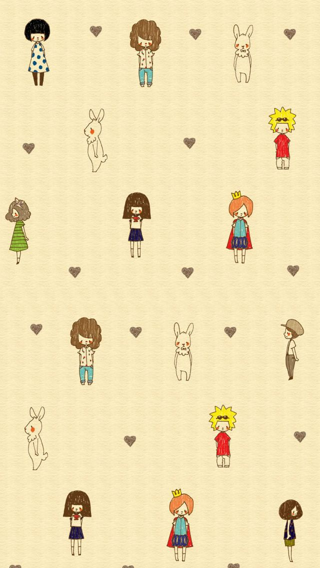 ↑↑TAP AND GET THE FREE APP! Art Creative Anime Asia Pattern Yellow HD iPhone Wallpaper