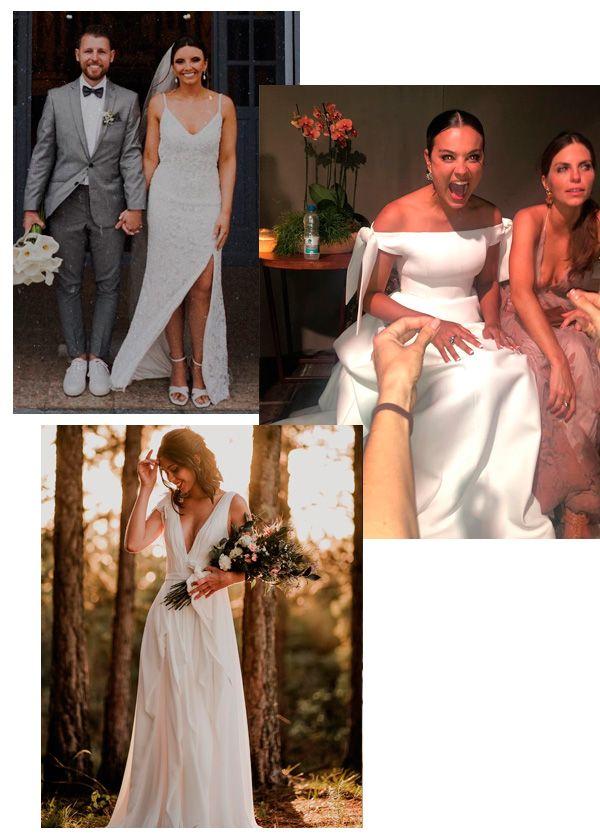 Helena Bordon, Kaká Oliveira, Renata Neumann - vestido-de-noiva - noiva - verão - casamento