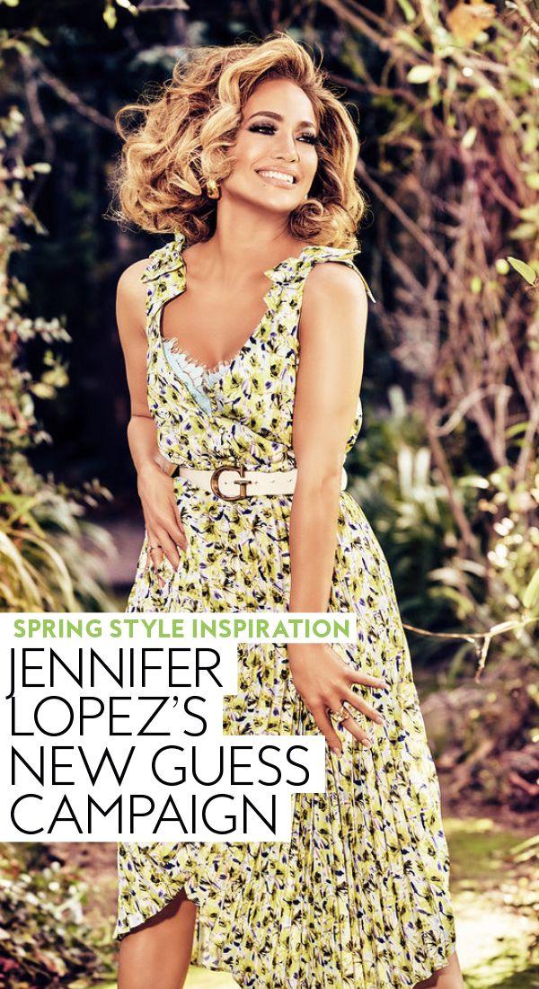 Spring Style Inspiration : Jennifer Lopez's New Guess Campaign