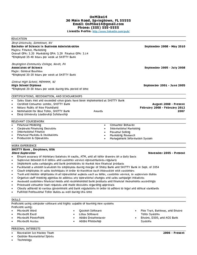 Entry Level Business Analyst Resume Examples - Examples of Resumes