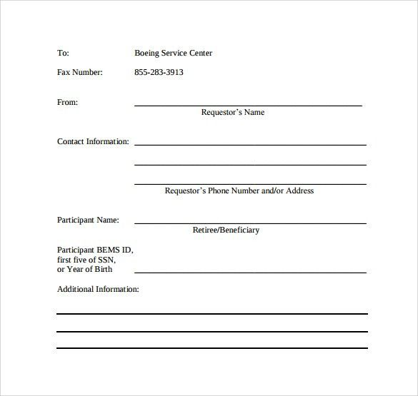 Free Printable Fax Cover Sheet Free Fax Cover Sheet Template - business fax cover sheet