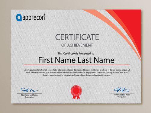Certificate Design Format Certificate Design Templates Free - certificate design format