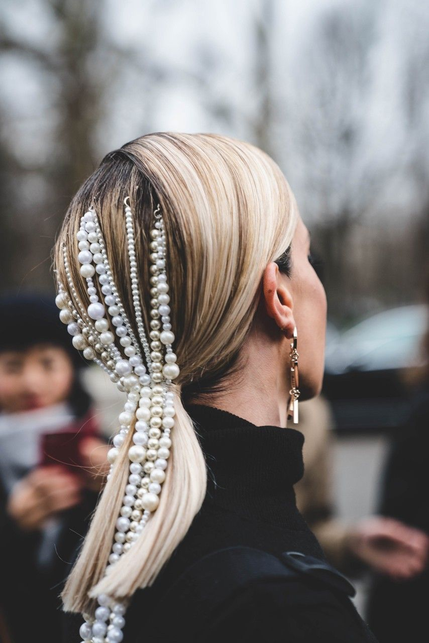 Chanel FW19 Paris Fashion Week Street Style | HYPEBEAST