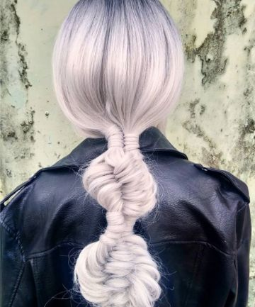 Hairstylist Rheanne White says DNA braids are suitable for both newbie and master braiders, but you'll definitely need some practice first.