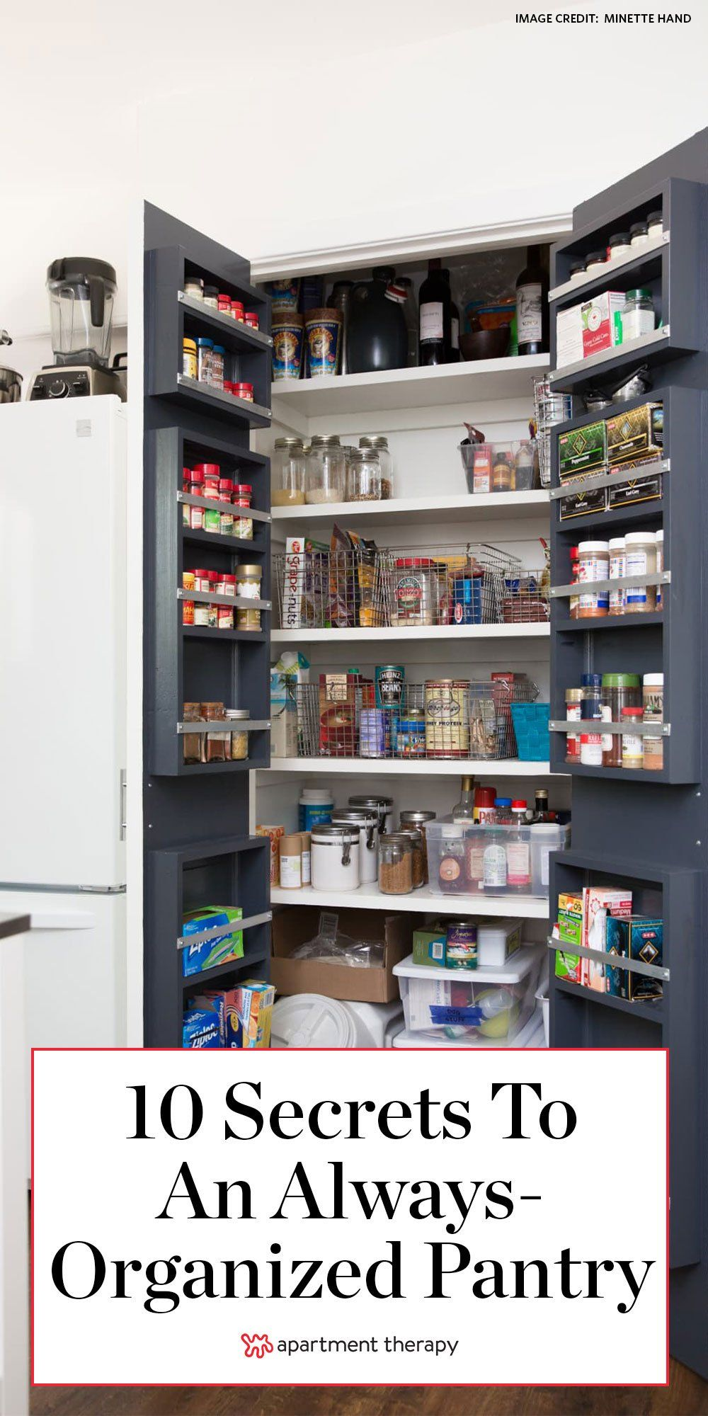 Make a vow to live by these ten guiding principles and enjoy a happy, healthy pantry for years to come. #pantrytips #pantryorganization #organizedpantry #closetorganization #kitchenideas #kitchenorganization #organizinghacks #organizingtips #clutterfreekitchen