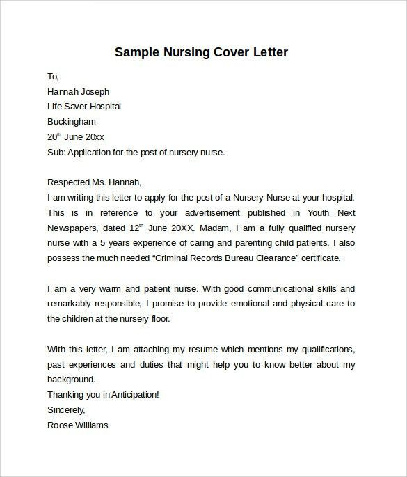 High Quality Pet Nurse Cover Letter Cvresumeunicloudpl