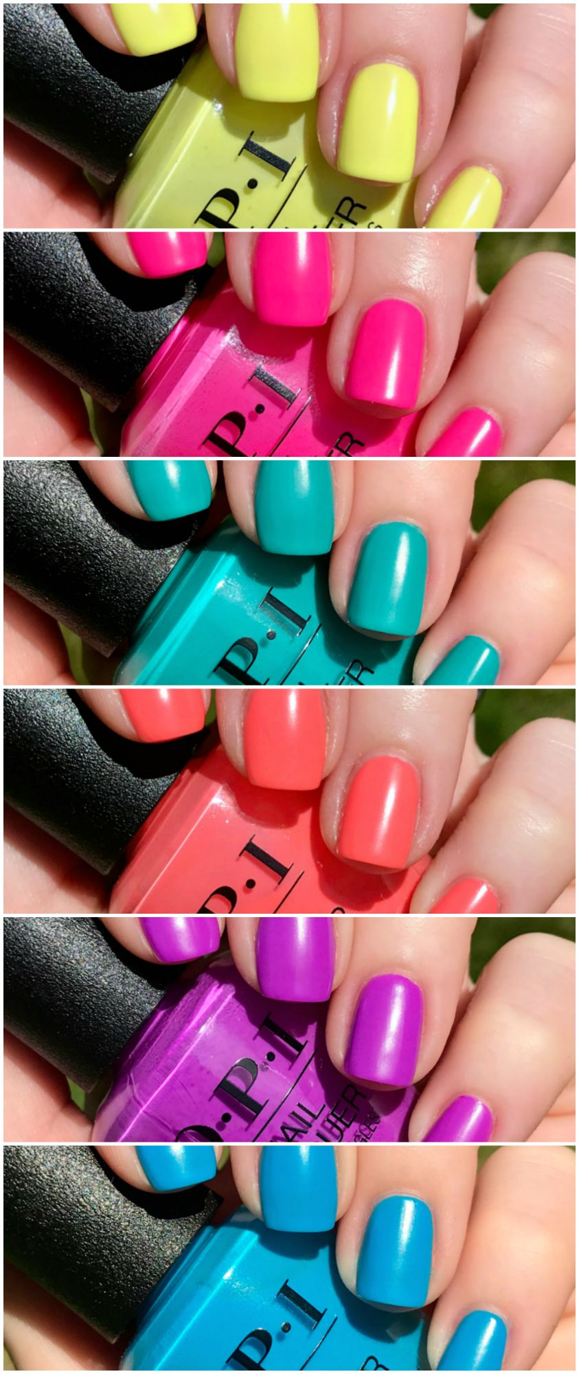 #OPI Neon Collection – Summer 2019