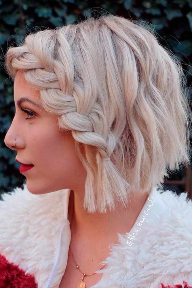 "Braided Blonde Blunt Sharp Bob Haircut <a class=""pintag"" href=""/explore/blondehair/"" title=""#blondehair explore Pinterest"">#blondehair</a> <a class=""pintag"" href=""/explore/bluntbob/"" title=""#bluntbob explore Pinterest"">#bluntbob</a> ★ If you don't know how to freshen up your look, you should discover our edgy bob haircuts! Short choppy bobs with blunt bangs, long layered shags, inverted cuts for curly hair, and lots of ideas that are popular in 2019 are here! ★ See more: <a href=""https://glaminati.com/edgy-bob-haircuts/"" rel=""nofollow"" target=""_blank"">glaminati.com/…</a> <a class=""pintag"" href=""/explore/glaminati/"" title=""#glaminati explore Pinterest"">#glaminati</a> <a class=""pintag"" href=""/explore/lifestyle/"" title=""#lifestyle explore Pinterest"">#lifestyle</a><p><a href=""http://www.homeinteriordesign.org/2018/02/short-guide-to-interior-decoration.html"">Short guide to interior decoration</a></p>"